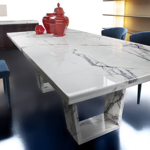 White Marble Table